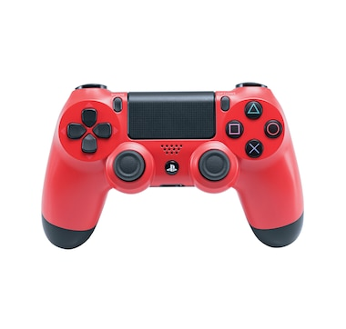 PS4 Dualshock 4 Wireless Controller (New, Magma Red)