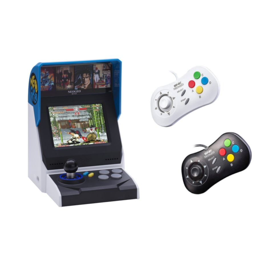 Image 638964.jpg , Product 638-964 / Price $179.99 , SNK Neo Geo Mini with Two Gamepads and 40 Games  on TSC.ca's Coins & Hobbies department
