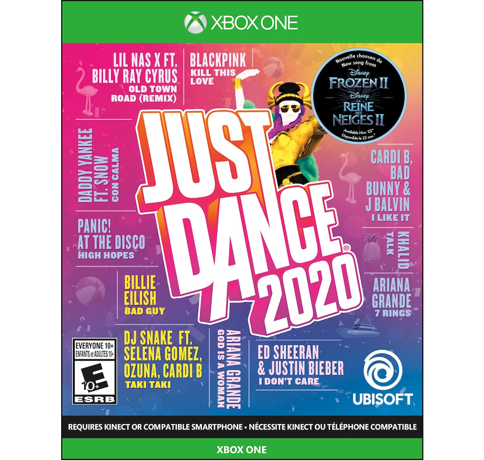 Image 638989.jpg , Product 638-989 / Price $29.99 , Just Dance 2020 - Xbox One from XBOX on TSC.ca's Coins & Hobbies department