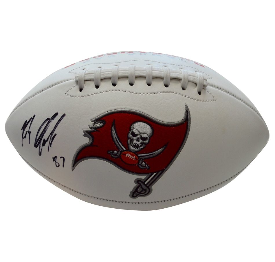 Image 641751.jpg , Product 641-751 / Price $839.99 , Fanatics Authentic Rob Gronkowski Autographed Tampa Bay Buccaneers White Panel Football from Fanatics on TSC.ca's Sports department