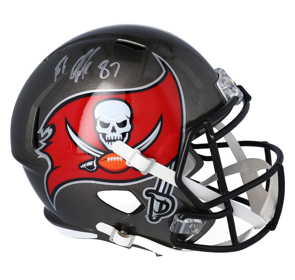 Image 641752.jpg , Product 641-752 / Price $979.99 , Fanatics Authentic Rob Gronkowski Autographed Tampa Bay Buccaneers Replica Speed Helmet from Fanatics on TSC.ca's Sports department