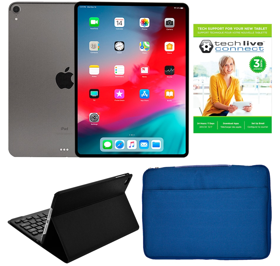 "Image 642119_GRU.jpg , Product 642-119 / Price $1,229.99 , Apple iPad Pro 11"" 64GB Tablet Bundle with 3-Year Tech Support from Apple on TSC.ca's Electronics department"