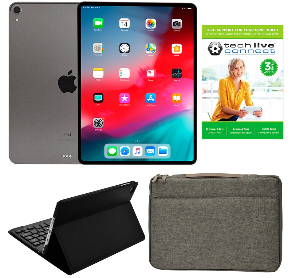 """Image 642119_GYGY.jpg , Product 642-119 / Price $1,429.99 , Apple iPad Pro 11"""" 64GB Tablet Bundle with 3-Year Tech Support from Apple on TSC.ca's Electronics department"""