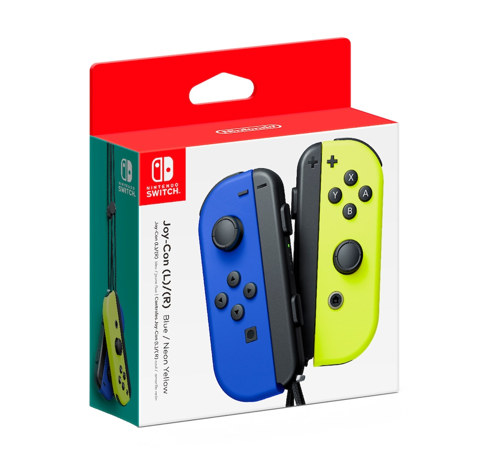 Image 642135_BLU.jpg , Product 642-135 / Price $99.99 , Joy-Con (L–R) from Nintendo on TSC.ca's Electronics department