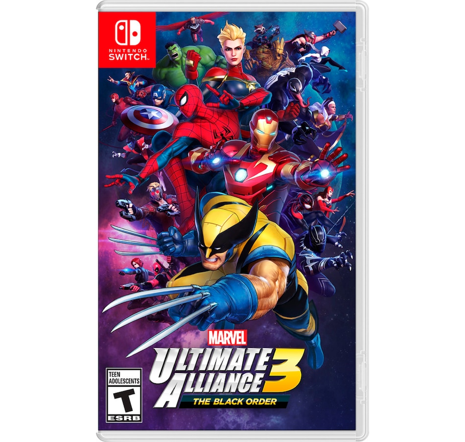 Image 642500.jpg , Product 642-500 / Price $79.99 , Marvel Ultimate Alliance 3: The Black Order from Nintendo on TSC.ca's Electronics department