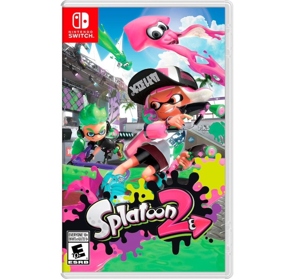 Image 642508.jpg , Product 642-508 / Price $79.99 , Splatoon 2 from Nintendo on TSC.ca's Coins & Hobbies department