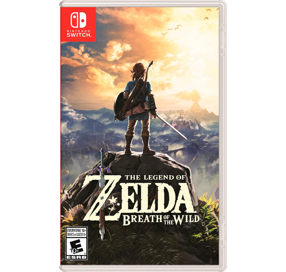 Image 642513.jpg , Product 642-513 / Price $79.99 , The Legend of Zelda: Breath of the Wild from Nintendo on TSC.ca's Coins & Hobbies department