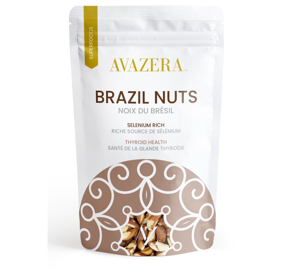 Image 642572.jpg , Product 642-572 / Price $21.00 , Avazera Organic Brazil Nuts from Avazera on TSC.ca's Health & Fitness department