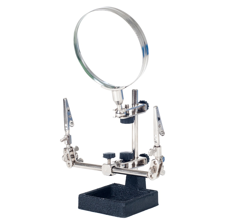 "Image 642866.jpg , Product 642-866 / Price $19.50 , Stalwart 2x Helping Hand 3.5"" Magnifier with Stand  on TSC.ca's Home & Garden department"