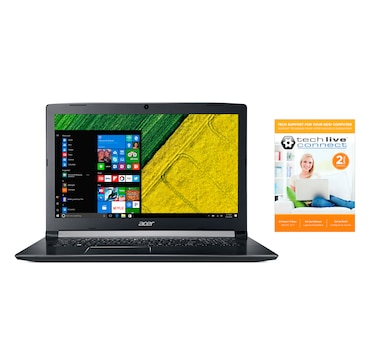 "Acer Aspire 5 17.3"" Laptop, Intel Core i5-8250U, 8GB RAM, 1TB HDD, MX150, with 2-Year Tech Support"