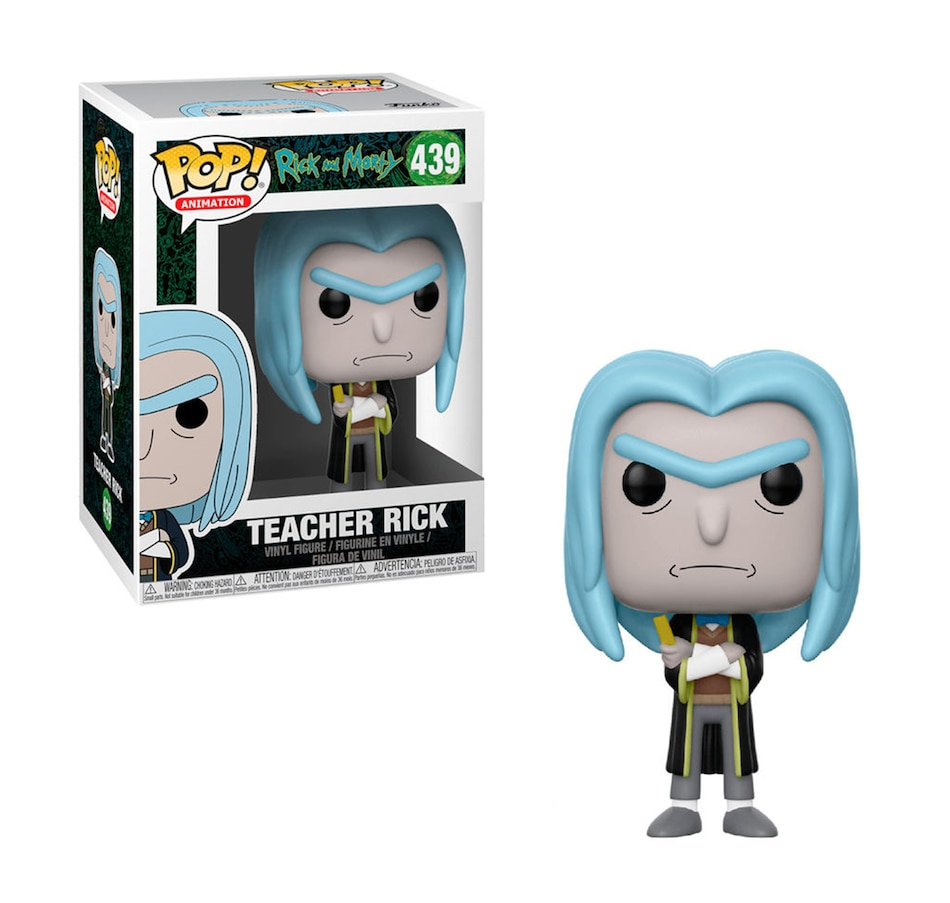 Image 643734.jpg , Product 643-734 / Price $14.99 , Funko POP! Animation: Rick and Morty - Teacher Rick from Funko Pop on TSC.ca's Coins & Hobbies department