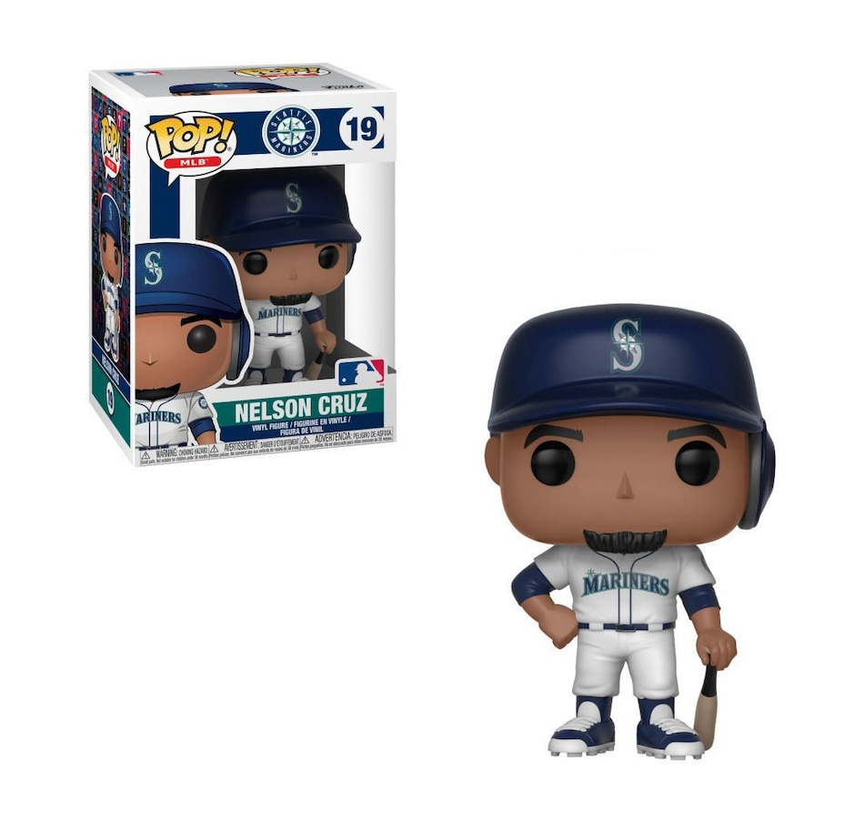 Image 644193.jpg , Product 644-193 / Price $14.99 , Funko Pop! Sports: MLB Seattle Mariners - Nelson Cruz from Funko Pop on TSC.ca's Coins & Hobbies department