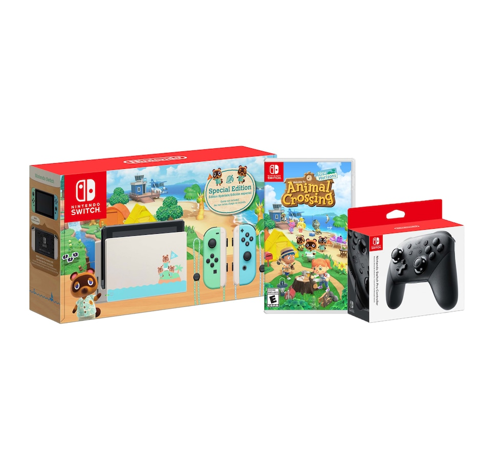 Image 644202.jpg , Product 644-202 / Price $624.99 , Nintendo Switch Animal Crossing Limited Edition Bundle from Nintendo on TSC.ca's Electronics department