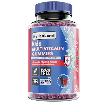 Herbaland Kids Multivitamin Gummies 45-Day Supply