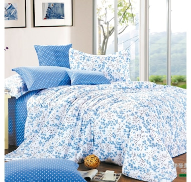 North Home Springfield 4 Piece Duvet Cover Set