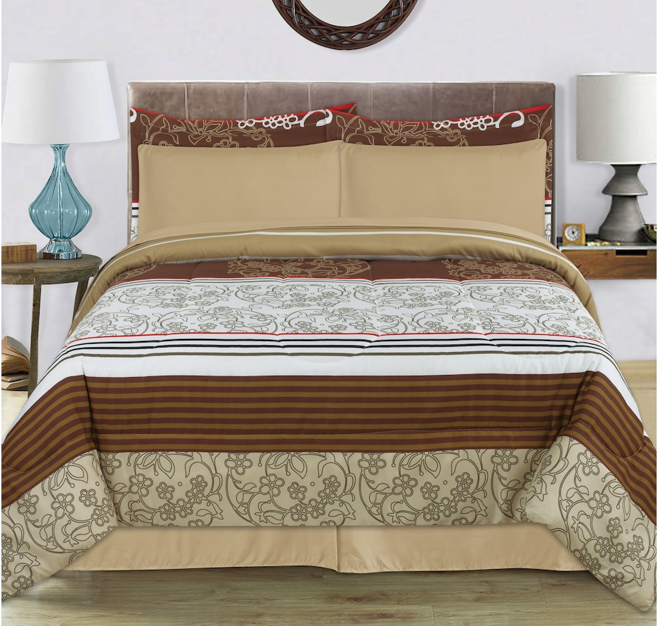 Image 645239.jpg , Product 645-239 / Price $82.99 , Lady Sandra Michelle Comforter Bed N Bag from Lady Sandra on TSC.ca's Home & Garden department
