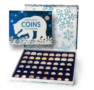 Discover Canada Through Coins 48-Piece Collection