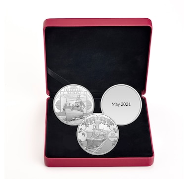 2021 $50 Fine Silver Proof Coins - The First 100 Years of Confederation Three-Coin Subscription