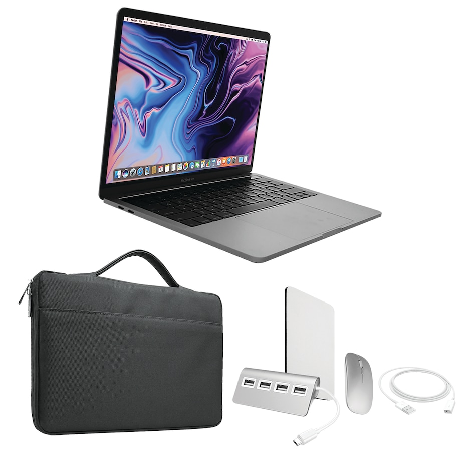 "Image 646372_GEBAK.jpg , Product 646-372 / Price $2,300.00 , Apple MacBook Pro 13"" Notebook, M1 Chip, 512GB SSD, 8GB Memory Bundle (2020) from Apple on TSC.ca's Electronics department"