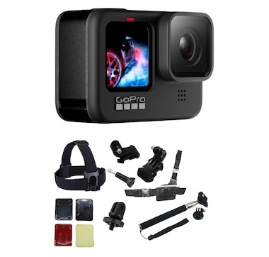 Go Pro Hero 9 and Accessory Bundle