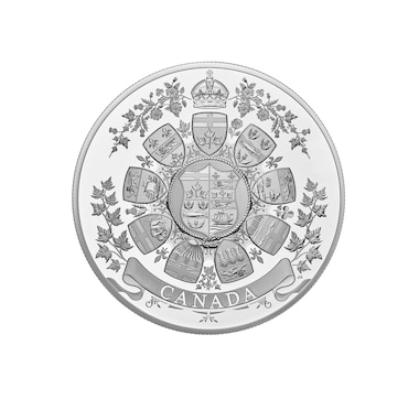 2021 One Kilo $250 Fine Silver Coin Archival Treasures: 1912 Heraldic Design