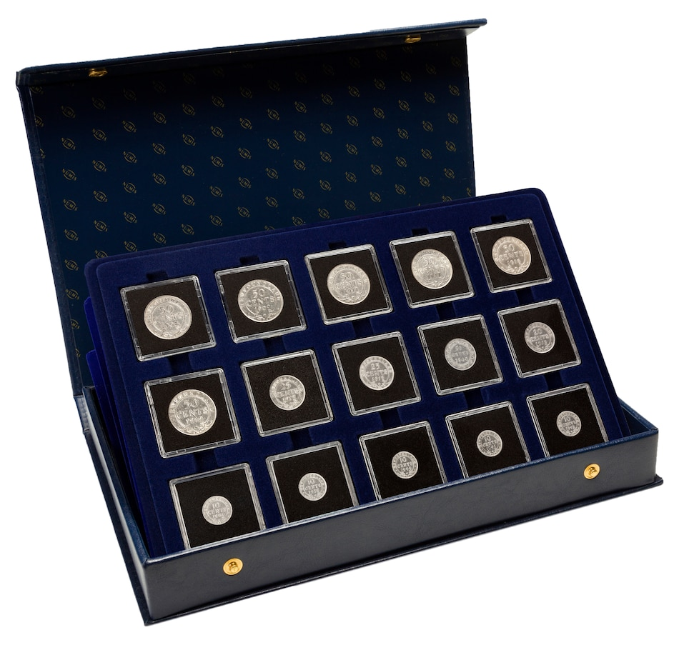 Image 646571.jpg , Product 646-571 / Price $499.95 , Coins of Newfoundland: 30-Piece Coin Collection from Canadian Coin & Currency on TSC.ca's Coins department