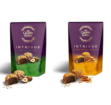 Nestlé UK Quality Street Intrigue Pralines and Salted Caramels Assorted 200 g (2-Pack)