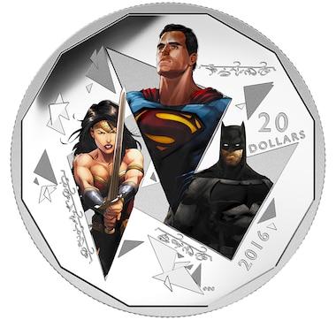 $20 Fine Silver Coin Dawn of Justice - The Trinity