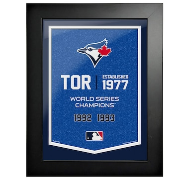 Toronto Blue Jays 12x16 Team Empire Framed Artwork