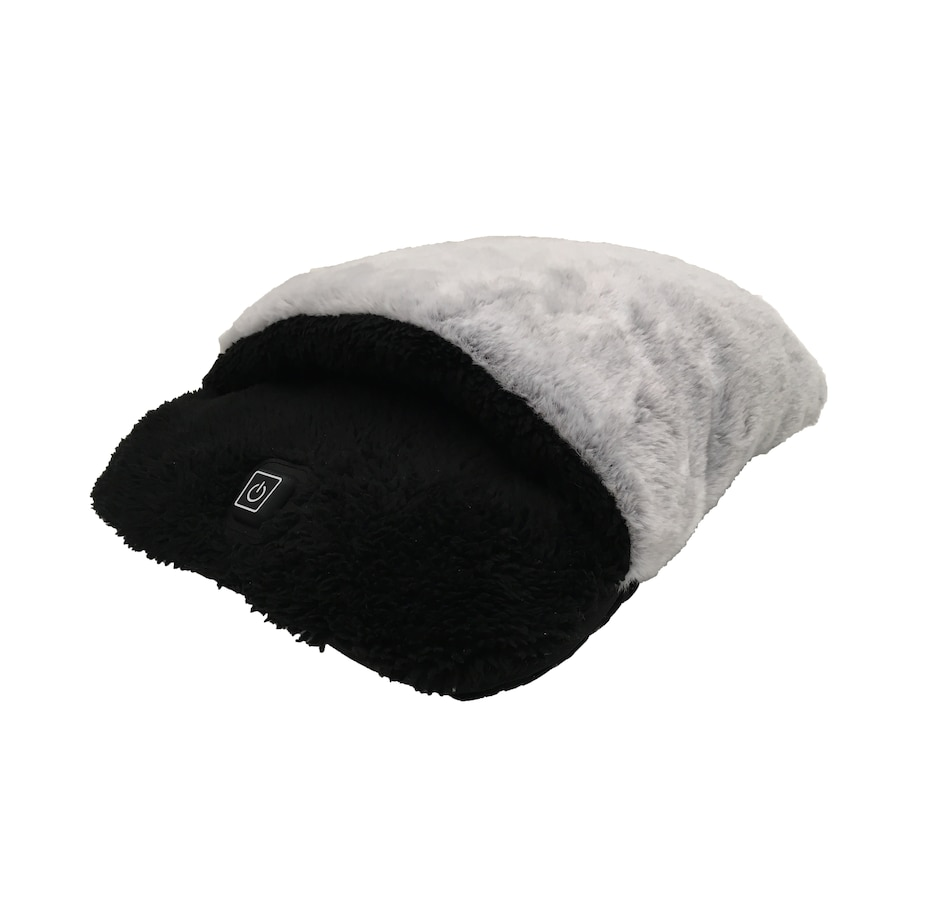 Image 647963.jpg , Product 647-963 / Price $34.99 , Sharper Image Ultra Plush Foot Warmer And Massager from Wellness Gadgets on TSC.ca's Health & Fitness department