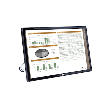 """AOC 16"""" (15.6"""" viewable) USB Powered Portable Monitor with Case"""