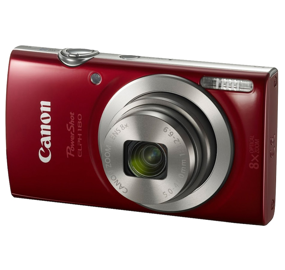 Image 649285_RED.jpg , Product 649-285 / Price $217.97 , Canon PowerShot ELPH180 from Canon on TSC.ca's Electronics department