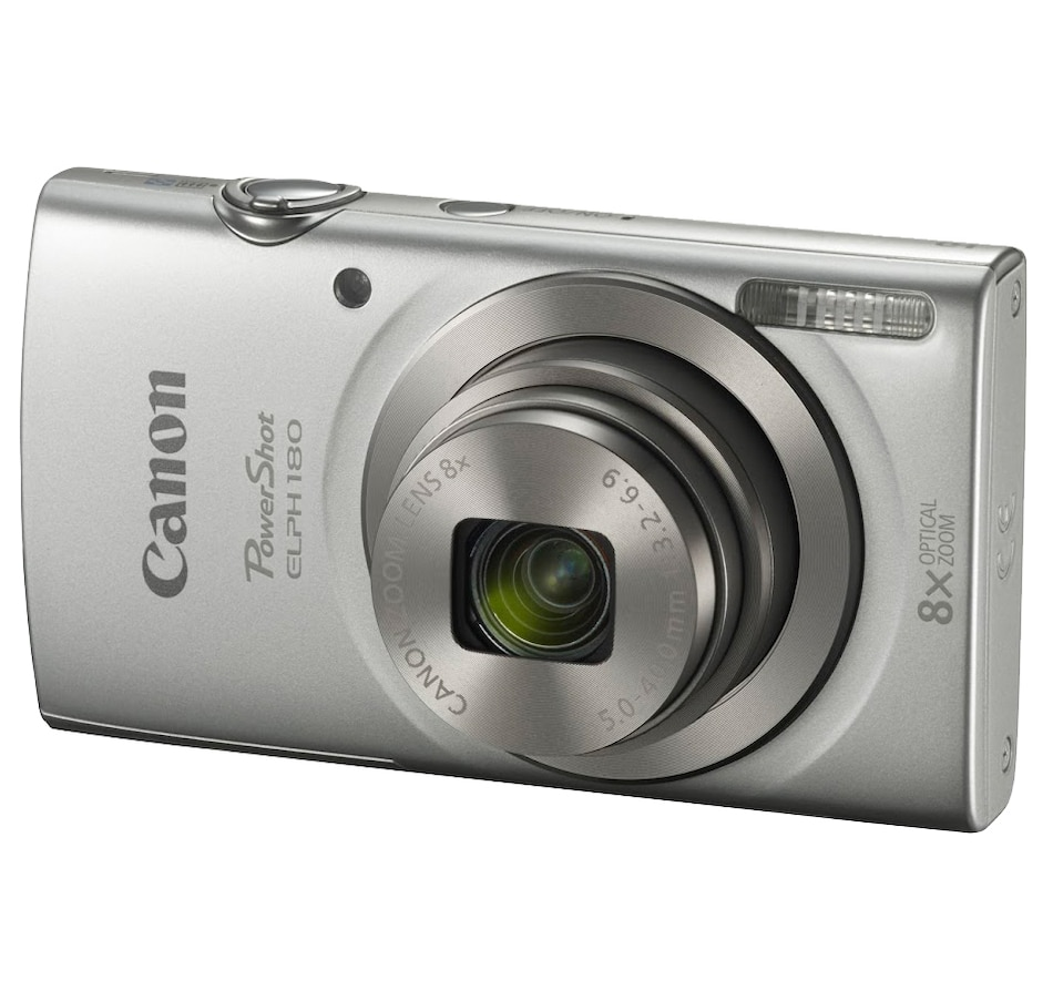 Image 649285_SIL.jpg , Product 649-285 / Price $217.97 , Canon PowerShot ELPH180 from Canon on TSC.ca's Electronics department