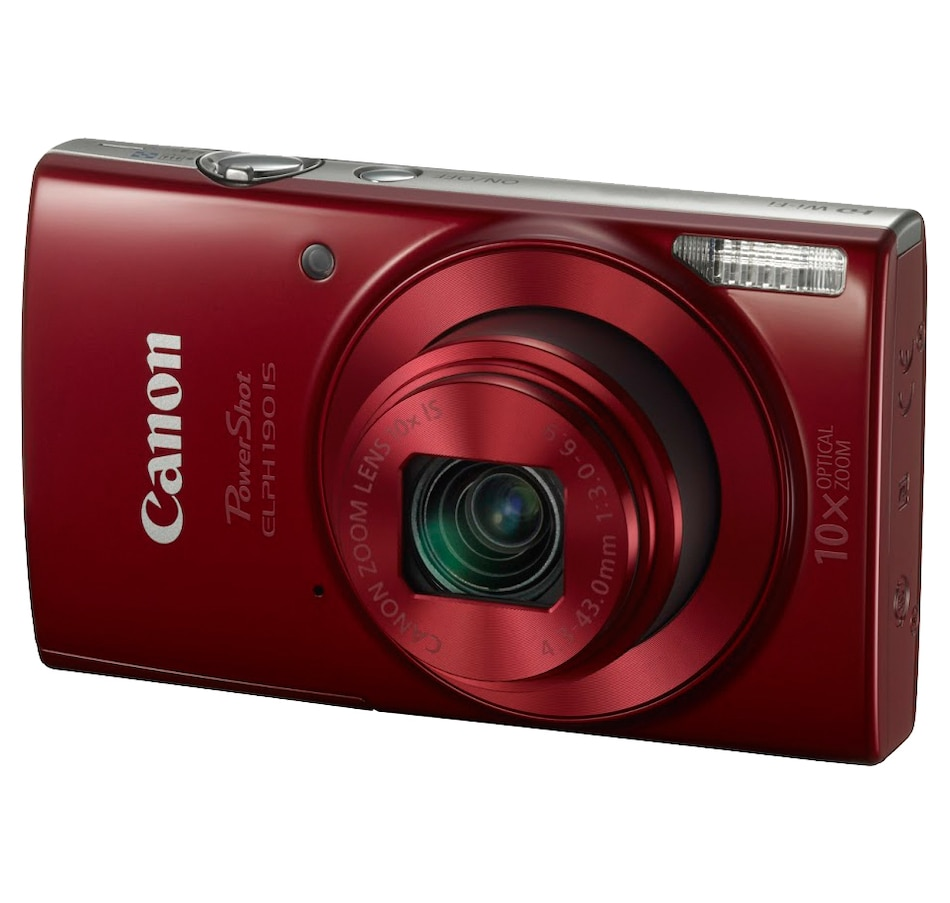 Image 649286_RED.jpg , Product 649-286 / Price $179.99 , Canon PowerShot ELPH190 IS from Canon on TSC.ca's Electronics department
