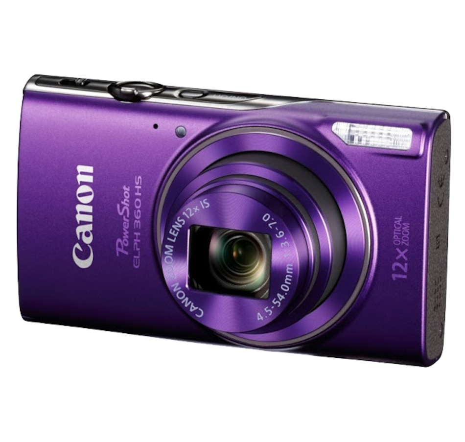 Image 649287_PUR.jpg , Product 649-287 / Price $269.99 , Canon PowerShot ELPH360 HS from Canon on TSC.ca's Electronics department