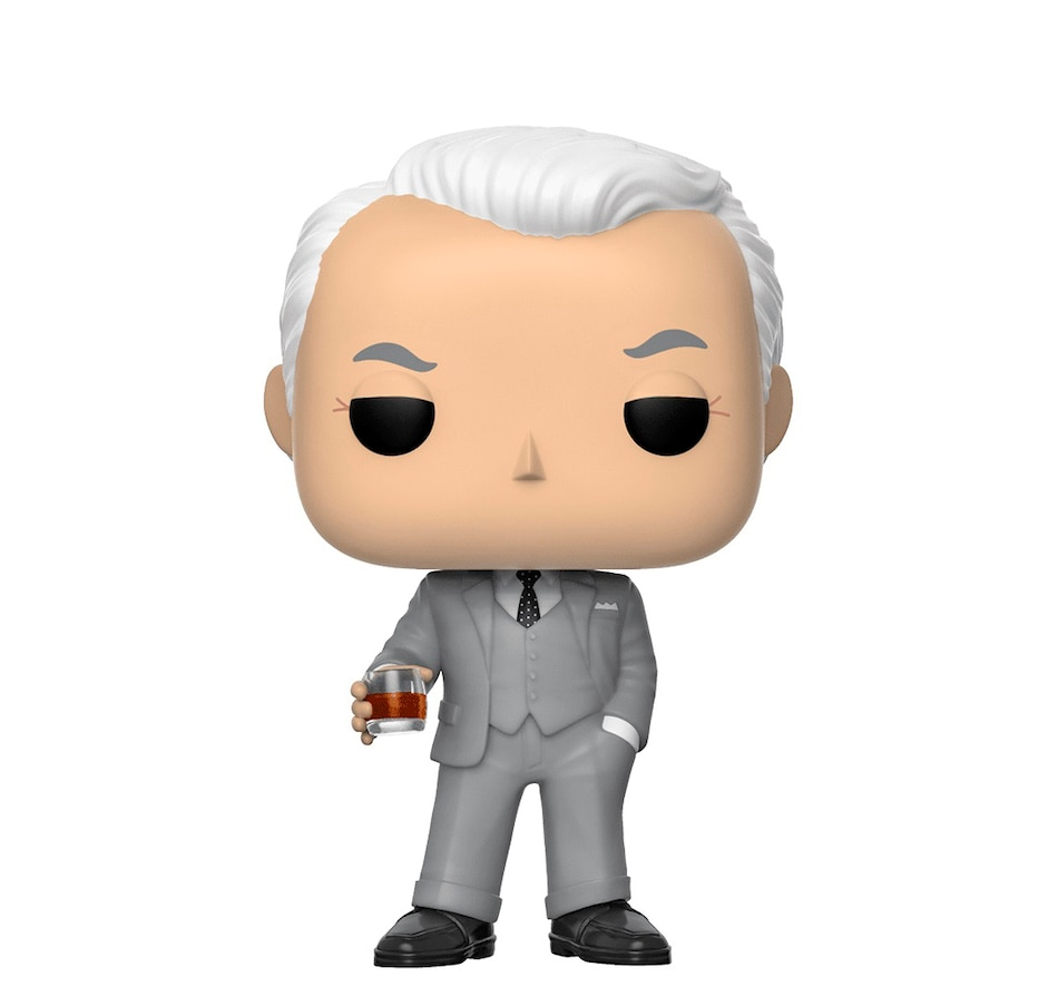 Image 649653.jpg , Product 649-653 / Price $14.99 , Funko POP! Television: Mad Men - Roger Sterling from Funko Pop on TSC.ca's Coins & Hobbies department