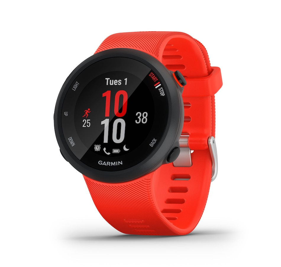 Image 649701.jpg , Product 649-701 / Price $279.99 , Garmin Forerunner 45 GPS Running Smartwatch and Fitness Tracker (Lava Red) from Garmin on TSC.ca's Electronics department