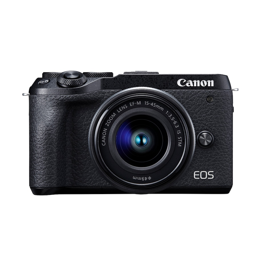 Image 649751.jpg , Product 649-751 / Price $1,499.99 , Canon EOS M6 Mark II Mirrorless Camera with EFM 15–45 mm Lens from Canon on TSC.ca's Electronics department
