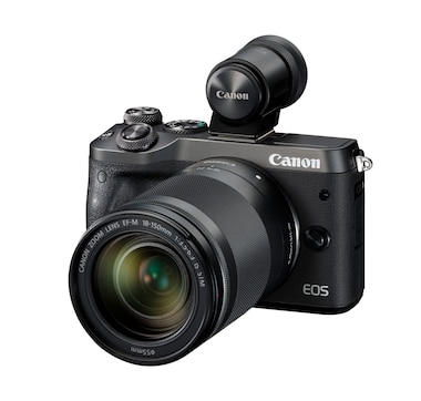 Canon EOS M6 Mark II with 18–150 and EVF Kit
