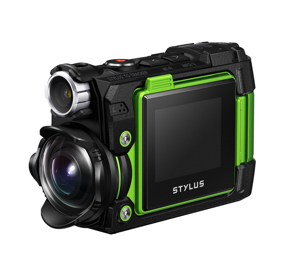 Image 650239_GRN.jpg , Product 650-239 / Price $359.99 , Olympus Tough TG-Tracker from Olympus on TSC.ca's Electronics department