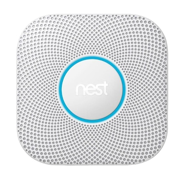 Google Nest Protect 2nd Gen Smoke + Carbon Monoxide Alarm, Wired