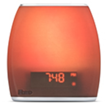 iHome Zenergy Bedside Sleep Therapy Speaker with Dual Alarm Clock Radio, Bluetooth & USB Charger