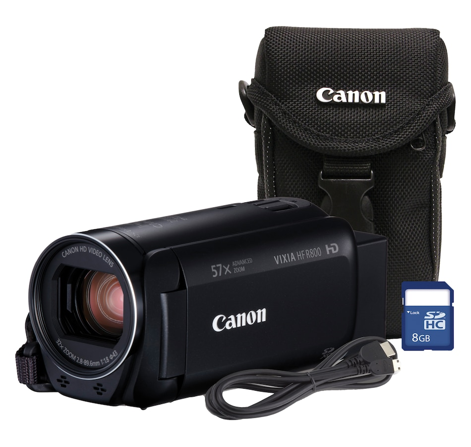 Image 650662.jpg , Product 650-662 / Price $339.99 , Canon HF R800 Flash Memory Camcorder, Bundled Case & 8GB SD Card, HD CMOS, 3.28M pixels from Canon on TSC.ca's Electronics department