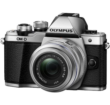 Olympus OM-D E-M10 Mark II Silver with 14-42 IIR Silver Lens