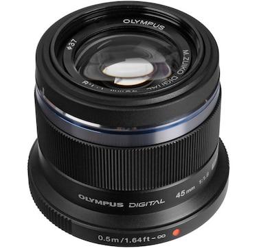 Olympus M. Zuiko 45mm f1.8 Lens, Black