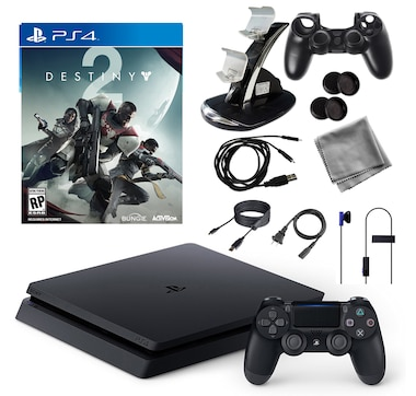 PlayStation 4 1 TB Core Console with Destiny 2 Game and Accessories Kit