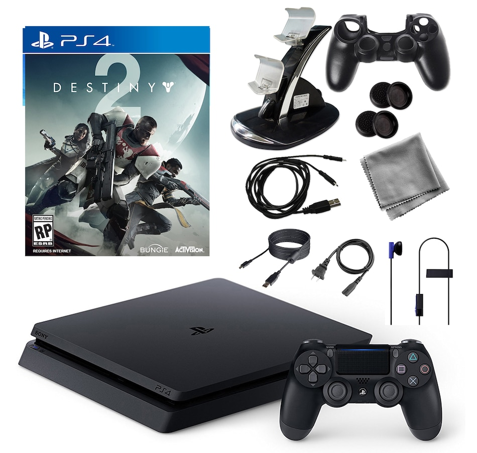 Image 651308.jpg , Product 651-308 / Price $644.95 , PlayStation 4 1 TB Core Console with Destiny 2 Game and Accessories Kit from PlayStation on TSC.ca's Electronics department