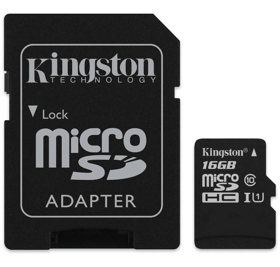 Image 651342.jpg , Product 651-342 / Price $19.99 , Kingston 16 GB Micro SD Card from Kingston on TSC.ca's Electronics department