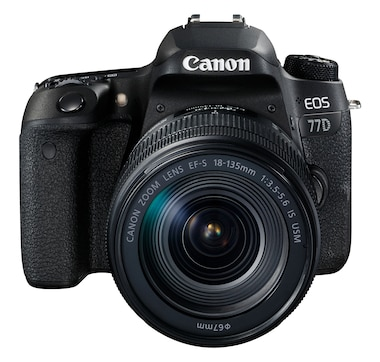 Canon EOS 77D DSLR Camera with 18-135 mm USM Lens