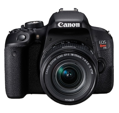 Canon EOS Rebel T7i DSLR Camera with 18-55 mm Lens